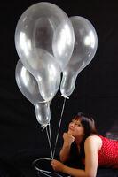 "20 x Belbal 14"" Luftballons KLAR * CRYSTAL CLEAR * (Made in EU)"