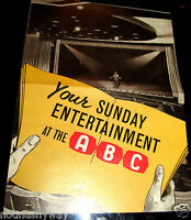 BEATLES Concert Programme ABC Great Yarmouth Liverpool London Memrobilia Music