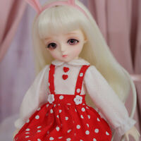 "1/6 Handmade Resin BJD MSD Lifelike Doll Joint Dolls Women Girl Gift 10"" Olivia"