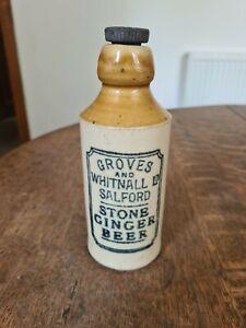 GROVES & WHITNALL GINGER BEER BOTTLE