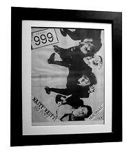 999+Nasty Nasty+POSTER+AD+RARE ORIGINAL 1977+PUNK+FRAMED+EXPRESS GLOBAL SHIP