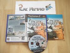 PLAY STATION 2 PS2 PACIFIC WARRIORS II 2 COMPLETO PAL ESPAÑA