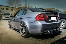 M3 BMW E90 E92 E93 M3 CARBON FIBER SIDE SKIRT + REAR BUMPER EXTENSION 2008-2013