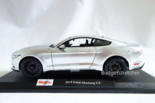 NEW MAISTO 1:18 Scale Diecast Model Car - 2015 Ford Mustang - Silver