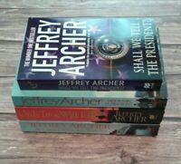 4 x Jeffrey Archer Paperback Books - (Bundle Job Lot)