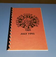 WHITE ZOMBIE ' DEVILMAN OVER AMERICA ' TOUR ITINERARY ( JULY 1995) RARE