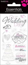 Wedding Dimensional Scrapbooking Stickers