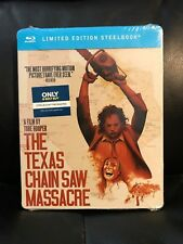 Texas Chainsaw Massacre Blu-Ray Best Buy Steelbook New Sealed Mint Region A