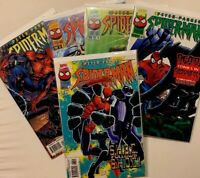 Peter Parker Spider-Man 76 - 1st Crown Hunger (Morbius Movie) NM+ & 77-80 VF+/NM