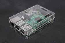 Premium Clear Case For Raspberry Pi B+ & Raspberry Pi 3 Model B Access All Ports