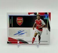 2020-21 Panini Impeccable Soccer SERGE GNABRY #/25 Impeccable Autograph Arsenal