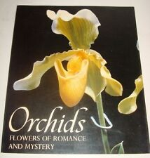 ORCHIDS FLOWERS OF ROMANCE AND MYSTERY 1979 SOFTCOVER BY JACK KRAMER VERY GOOD