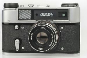 FED-5 + 55 mm 1: 2,8  Lens, fully working ( at all speeds ), very nice Condition