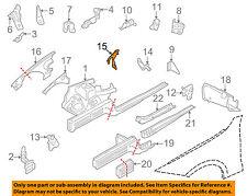 BMW OEM 08-13 128i Fender-Upper Bracket Left 41357144045