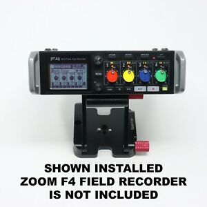 Custom 4-Color Replacement Gain / Fader Knobs for Zoom F4 Field Recorder
