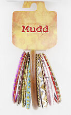 New 16 Piece Fancy Bangle Bracelet Set by Mudd #B1487