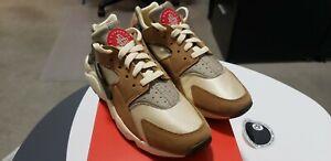 Stussy x Nike Air Huarache LE 'Desert Oak' US Mens Size 8 *FAST SHIPPING*