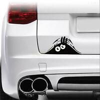 2x Cute 3D Eye funny Peeking Monster Simulation Sticker Decal Auto Car Window