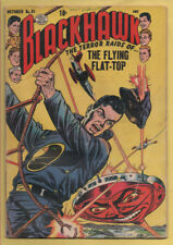 Blackhawk #81 Quality Comics 1954 Blackhawk battles Satan! VG
