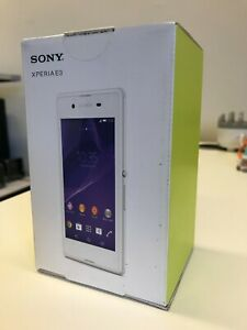 Sony Xperia E3 - White (D2203) - 4GB - Unlocked Smartphone - BRAND NEW BOXED!!