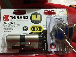 Cylindre De Serrure Thirard 66mm