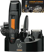 VS Sassoon VSM7056A Cordless Rechargeable Hair Beard Body Trimmer Shaver Groomer