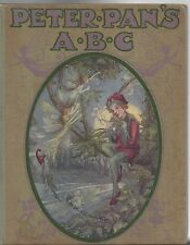 Peter pan's abc art flora white 1913 1st edition hardcover vintage illustrations