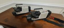 2x Rca Cmr-300 Cmr300 Vhs Camcorder with Cases, Batteries & Accessories-Working