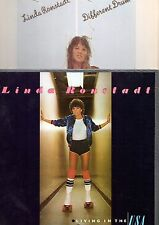 Linda Ronstadt Vinyl 2 LP Lot, Living in the USA & Different Drum ~ NM- !