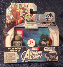 Marvel Minimates Walgreens Exclusive PROXIMA MIDNIGHT & IRON MAN MARK 2 Pack NEW