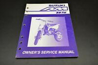 OEM Suzuki 99011-02B77-03A Owner's & Service Manual RM85K2 200 NOS