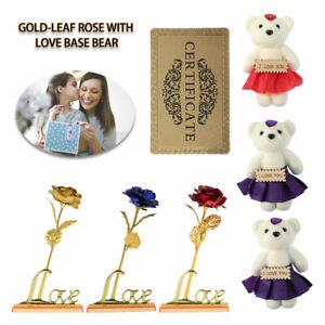 Gold Rose Valentinstag Goldene Hochzeit Jahrestag Geburtstag