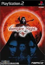 Used PS2 Vampire Night  Namco SONY PLAYSTATION JAPAN IMPORT