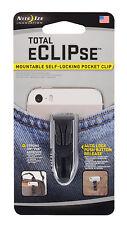 Nite Ize Total Eclipse Mountable Self Locking Pocket Clip Belt Clip SLC-01-R7