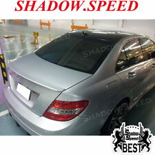 Painted A Type Rear Trunk Spoiler For Mercedes Benz C W204 C300 C250 Sedan ✪