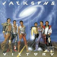 Jacksons Victory CD 1984 8trk Epic Early Japan for Europe Pressing