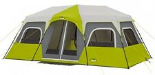CORE Camping Tent 12-Person Green Outdoor Family Instant Cabin Shelter New