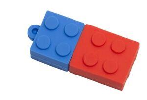 Lego Kids School 8GB Blocks USB,   Bricks 8GB USB,  Novelty Flash Drive,  Zip Dr