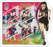 Stamps Olympic Games Tokyo 2020  Rugby
