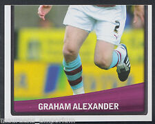 Panini football 2011 championnat autocollant-nº 47-burnley-graham alexander