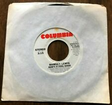 "Ramsey Lewis Don't It Feel Good Vinyl 7"" Single Columbia Records 1975 Promo Copy"