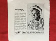 m2p ephemera 1950s advert the bowater paper corporation limited