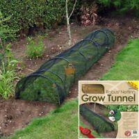Net Garden Allotment Grow Tunnel Netting Mesh Cloche Plant Veg Protection 3m