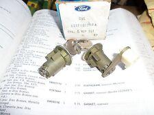 1981 82 1983 1985 1989 1991 ford F-series ranger nos cylinder locks and key set