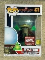 Mysterio Light Up Collector Corps Funko Pop Vinyl New in Mint Box + Protector