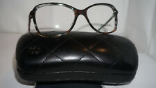 CHANEL RX Authentic New Eyeglasses Multi Brown Brille 3336 C.1521 52 16 135
