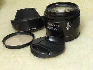 Minolta AF 24mm f/2.8 Lens For SONY Alpha  Digital SLR camera + hood + filter