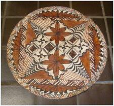 Vintage  Round Tapa ??Tonga? Have more same estate #4