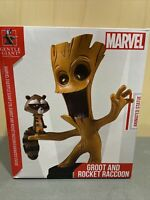 Gentle Giant Marvel Animated Guardians of the Galaxy Groot and Rocket Statue