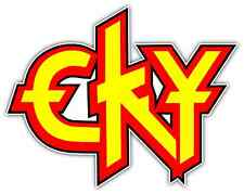 "CKY Band Rock Metal Music Car Bumper Window Sticker Decal 5""X4"""